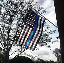 USA Police Thin Flag Support Police & Law Enforcement Flags 3*5' feet
