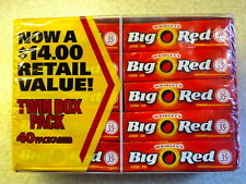 x40 BIG RED Cinnamon Chewing Gum from Wrigley's (40x5 Packs=200 CT) BBD AUG2016