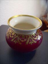 Edelstein Bavaria kleine Vase Porzellan  Gold-Dekor ~~~ Art Deco