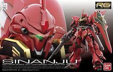 New Bandai RG Gundam UC MSN-06S Sinanju 1/144  plactic model Free Shipping F/S