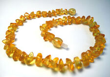 100% Natural Baltic Amber Baby Necklace - 11 inches
