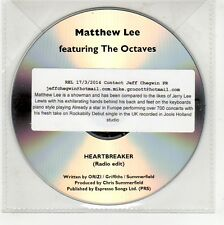 (GG248) Matthew Lee ft The Octaves, Heartbreaker - 2014 DJ CD