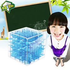 Magical 3D Maze Magic Cube Puzzle Game Kids Education Labyrinth Rolling Ball Toy