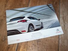 Catalogue / Brochure CITROEN DS4 2010 / 2011 //