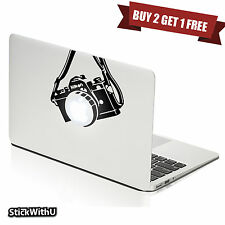 Macbook Air Pro Vinyl Skin Sticker Decal DSLR Nikon Camera Photography M437