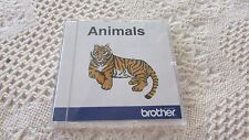 Brother Embroidery Card Animals OOP EXCELLENT Pre-Own Condition FREE SHIPPING