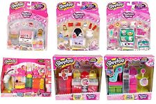 Shopkins SEASON 3 BOUTIQUE MAKEUP SHOE FASHION SPREE PLAYSET BALLET Bundle LOT 6