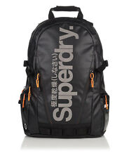M91000DN-ARI Superdry Mega Ripstop Tarp Backpack!! BLACK/RIPSTOP!!