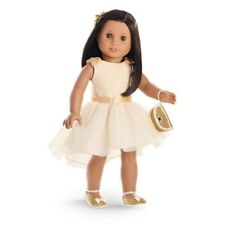 "American Girl MY AG GORGEOUS GOLD OUTFIT for 18"" Dolls Dress NO HAIRCLIP NEW*"