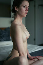 8 x 10 Fine Art NUDE print female model naked Color photograph. Signed!!