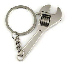 1X Charm Creative Good Tool Wrench Spanner Key Chain Ring Keyring Metal Keychain