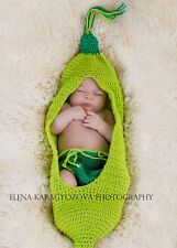 Newborn Baby  Infant Knitted Crochet Costume Photo Photography Prop A107