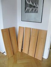 6 REGALBRETTER 6 Shelves for a 60s Wandregal Wall unit Storage Sytem