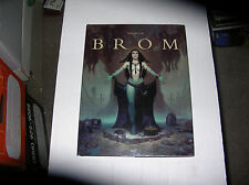 The Art of Brom by Brom (2013, Hardcover) SIGNED 1st/1st