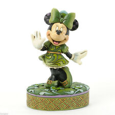Disney Jim Shore Minnie Wishing On a Shamrock RARE Retired 4037517 Not In Stores