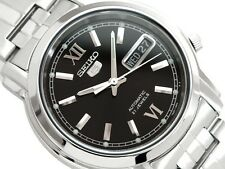 Seiko 5 Men's SNKK81K1 Stainless Steel Automatic 21 Jewels Day Date Watch