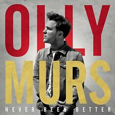 OLLY MURS - NEVER BEEN BETTER: CD ALBUM (November 24th 2014)