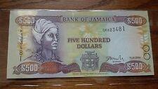 Jamaica 500 Dollars 2003 UNC
