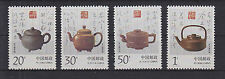 China VR 2529-2532 ** postfrisch, Teekannen aus Yixing, MNH -RA551