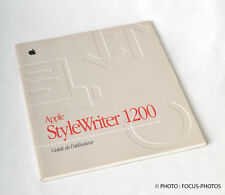 Apple Style Writer 1200 Guide de l'utilisateur FRENCH VERSION Users Setup Manual