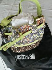 OFFERTA MARZO ! ! ! Borsa bag NUOVA Just Cavalli in pelle, genuine leather
