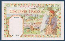 ALGERIE - 50 FRANCS Pick n° 87. du 2-2-1945 en SPLENDIDE  K.1560 163