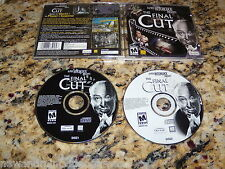 Alfred Hitchock Presents The Final Cut (PC, 2002) Game