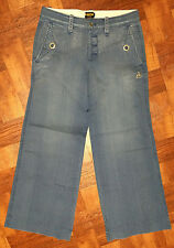 RUGBY Ralph Lauren RRL Nautical Anchor Signature Relaxed Wide Boot Pant Jean 0