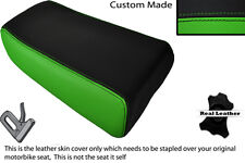 BLACK & GREEN CUSTOM FITS KAWASAKI ZXR 750 93-95 (L) REAR PILLION SEAT COVER