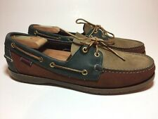 SEBAGO DOCKSIDES BROWN LEATHER LOAFERS MENS 11 M SHOES DECK BOAT CASUAL