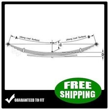Front Leaf Springs (3/1 Leaves) for 2001-2004 Ford F450SD, F550SD 2WD/4WD