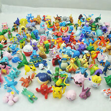24Pcs Pokemon Pikachu Mini Action Figure Toy Small Cartoon Anime Mixed Xmas Gift
