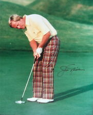 JACK NICKLAUS – ORIGINAL AUTOGRAPHED COLOUR GOLF PHOTO