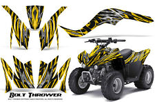 KAWASAKI KFX 90 2007-2012 GRAPHICS KIT CREATORX DECALS BOLT THROWER Y