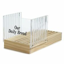 Norpro 370 Bread Slicer and Guide with Crumb Catcher, New, Free Shipping