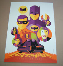 Batman Classic TV Series print Tom Whalen Poster SDCC 2013 Exclusive Art mondo