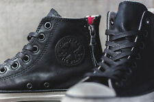 NIB $165 Converse by John Varvatos CT DBL Heel Zip Black / Ox 147373C USMens10.5