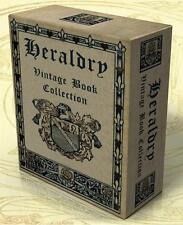 HERALDRY 217 Rare Vintage Books on DVD + 710 hi-res Images, Genealogy, Devices