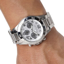 MARC BY MARC JACOBS Silver Tone MBM3155 ROCK Chronograph Unisex Watch