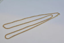"Chaine maille gourmette "" Gold chain "" or jaune 18 carat - 50 cm"