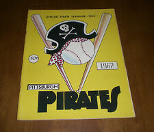 1962 PITTSBURGH PIRATES OFFICIAL YEARBOOK