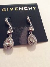 $45 Givency Crystal Oribtal Earrings  Clear  365