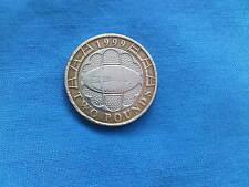 Copa Mundial de rugby 1999 dos libras moneda