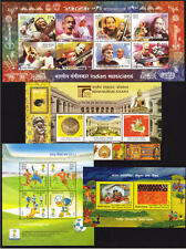 INDIA 2014 Complete Set of 4 Miniature Sheets MNH - YEAR PACK of Miniatures