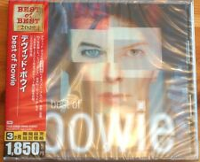 Rare Bowie Best of Bowie Made in Japan 20 Tracks Cd MINT Thick Case Ed OBI