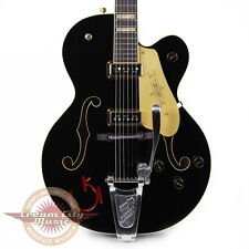 Gretsch G6120DSW Chet Atkins FSR Hollow Body Black & Red 1955 Vintage Style