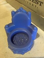 Fisher Price Little People castle princess palace throne chair Blue/purple Queen