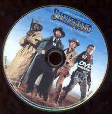 Silverado DVD Western Movie Kevin Kline Danny Glover Kasdem Film  NO CASE