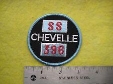 Vintage Chevrolet Chevelle SS 396   Dealer Uniform Patch