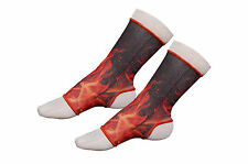 Thai Boxing, Muay Thai FIRE/FLAME Ankle Support Anklets- Size Senior